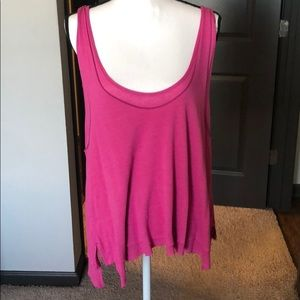 NWOT!! We The Free pink tank top strappy S